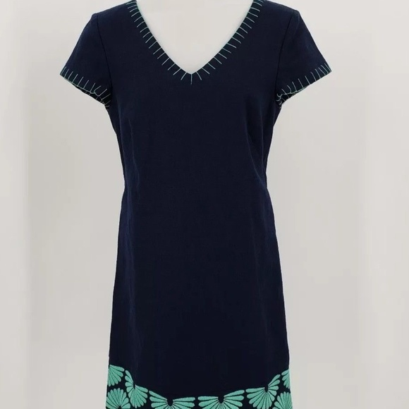 b8613ec543f Vineyard Vines Dresses | Embroidered Tunic Shift Dress | Poshmark